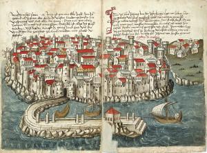 konrad von grunenberg,la fortezza di Modon, 1487