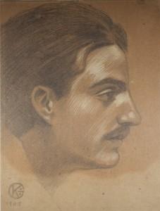 autoritratto-di-kahlil-gibran-1905