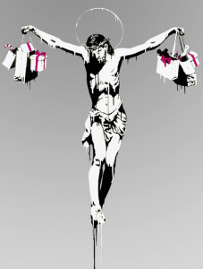 copertina-banksy-jesus-with-shopping-bags