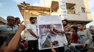 manifestazione-anti-macron-nella-provincia-di-aleppo-in-siria