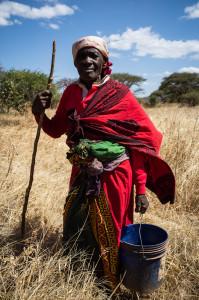 Old Woman of Usolanga village