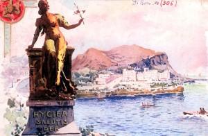 hygiea-salutis-dea-cartolina