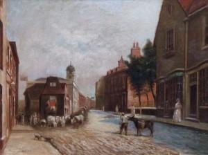 Read, John Burall, c.1846-1904; High Street, Croydon, Surrey
