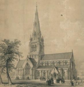 st-giles-church-camberwell-1842