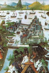 lassedio-di-costantinopoli-da-parte-di-mehmet-ii-in-un-manoscritto-conservato-alla-bibliotheque-nationale-francese