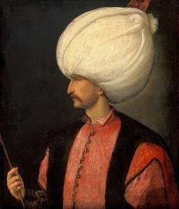Solimano il Magnifico, bottega di Tiziano, Kunsthistorisches Museum Wien