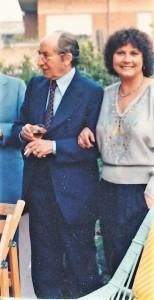 Sandra Puccini con Alberto Maria Cirese