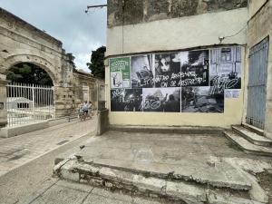 Mostre improvvisate/improvvise sui muri della città (ph. Giuseppe Sinatra)