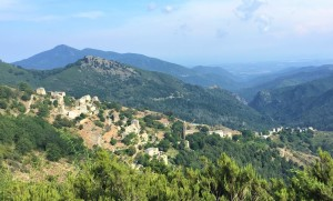 Corsica, 2018 – Veduta panoramica di Pianello (ph. B. Myftari)