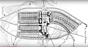 Planimetria per il Piano di Pomezia, a cura di Caracciolo
