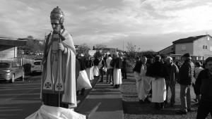Processione di S. Marcellu ad Aleria (gennaio 2017, ph. Broccolini)