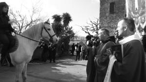 Benedizione dei cavalli - Aleria (gennaio 2017, ph. Broccolini)