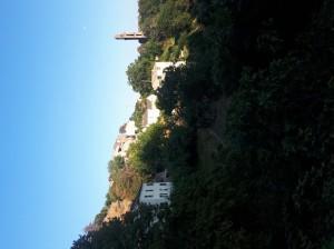 Vista su Pianellu, agosto 2018 (ph. Francesca R. Uccella)