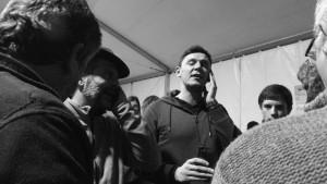 Canto a paghjella, Festa di S. Marcellu , Aleria (gennaio 2017, ph Broccolini)