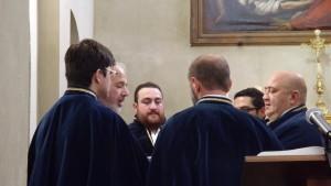 Canti confraternali,  S. Marcellu (gennaio 2017, ph. Broccolini)