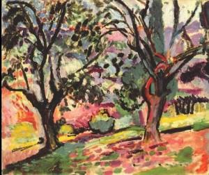Henri Matisse, Alberi a Collioure