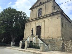 Pianello, 2018, Chiesa di Santa Cecilia. (ph. Bianka Myftari)