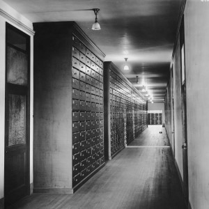 "Box 9, Folder 6; ""Physical Anthropology Corridor""  (Smithsonian Open Access)"