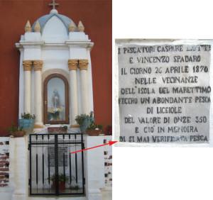 Edicola votiva dedicata a Santu Patri