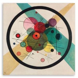 Kandinsky, Cerchi in un cerchio
