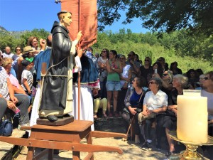 Corsica, 2018, Festa di San Vincente Ferrer, asta rituale (ph. B. Myftari)