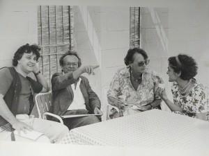 Adonis, Janne Vibaek e Michel Khleifi a Gibellina