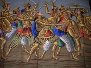 Scacco di carretto dipinto (ph. Luigi Lombardo)