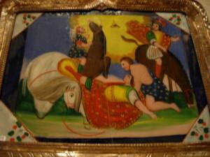Pittura su ventro (ph. Luigi Lombardo)