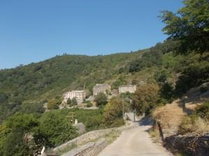 Panorama di Pianellu lungo il percorso della processione di san Vincente (ph. Selene Conti)