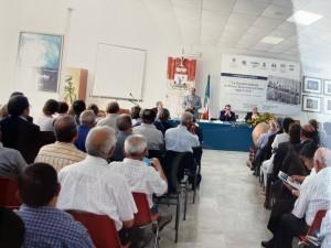 Salvatore Costanza al convegno sul Centenario dei fasci siciliani, Santa Ninfa 10 dic. 1994