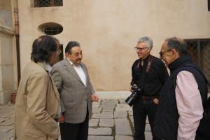 Costanza con Nino Giaramidaro e Arturo Safina, Trapani 2014 (ph. Melo Minnella)
