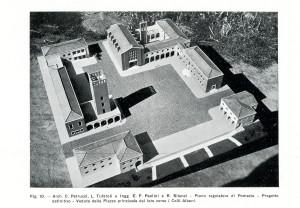 Piano Regolatore di Pomezia, veduta della Piazza principale