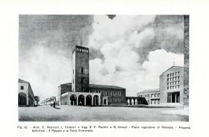 Piano Regolatore di Pomezia, Il Palazzo e la Torre comunale