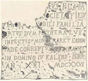 Un ricordo della peste di Palermo del 1626, pag.