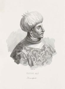 Uluç Alì Pascià, rinnegato di origine calabrese, di Giuseppe Guzzi, 1837