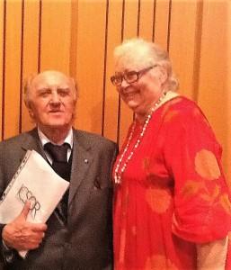 Con Franco Ferrarotti