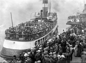 Partenze per le Americhe (primi Novecento)