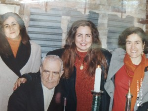 Corrao con le poetesse, l'algerina Zaynab-al-Awaj e la marocchina Wafa-al-Amrani