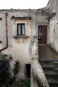 Accesso al piano nobile della Casa Museo Uccello (ph. Luigi Lombardo)