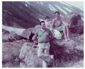 Val Veny, ai piedi del Monte Bianco, 1983